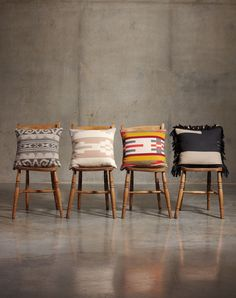 wonder if i could make some pillows liek this. Pendleton Pillows from The Portland Collection