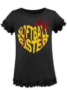 softball shirt little sister – Basic Game Day Shirts Softball Tshirts, Softball Quotes, Softball Players, Girls Softball, Baseball Shirts, Softball Gear, Baseball Memes, Softball Stuff, Baseball Pants