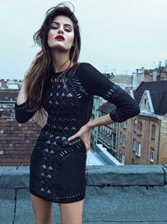 Good Lord #SupaSistaLatina #SupaDaily #Latina We heart heart heart this dress - Dios mío!