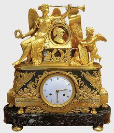 Clocks For Sale, Old Clocks, Antique Clocks, Sistema Solar, French Clock, Retro Clock, Wall Clock Online, Old Picture Frames, Mantel Clocks