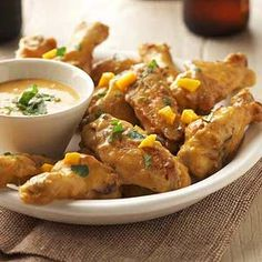 Bangkok Chili Wings From Better Homes and Gardens, ideas and improvement projects for your home and garden plus recipes and entertaining ideas.