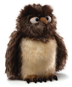 Zooter the Owl Plush #zulily #zulilyfinds