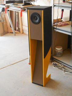 "Suzy Chang speaker design using Pioneer 4.5"" fullrange speaker A10"