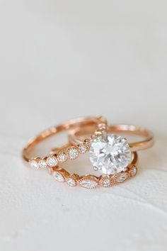 Check this black pearl engagement ring set. This rose gold ring features a black pearl beautifully set in a solid gold setting. A matching diamond wedding ring completes the sentiment. Classic Engagement Rings, Platinum Engagement Rings, Engagement Ring Settings, Ring Engagement, Unique Vintage Engagement Rings, Vintage Wedding Bands, Morganite Engagement, Wedding Rings Rose Gold, Diamond Wedding Bands
