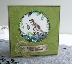 Dinosaur cards | cardmakingandpapercraft.com