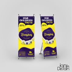 Dung Cung Ice Banner Design by Klinik Desain Ku Banner Design, Tips, Counseling