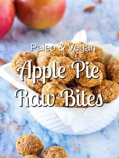 Apple Pie Raw Bites