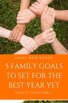 It's a great time to get together as a family and discuss what's important. Setting goals are important so that your family can have a common goal to work towards. Family Goals, Family Love, Family Kids, Screen Time For Kids, Local Moms, Confidence Boosters, What Is Need, Relationship Tips, Healthy Relationships