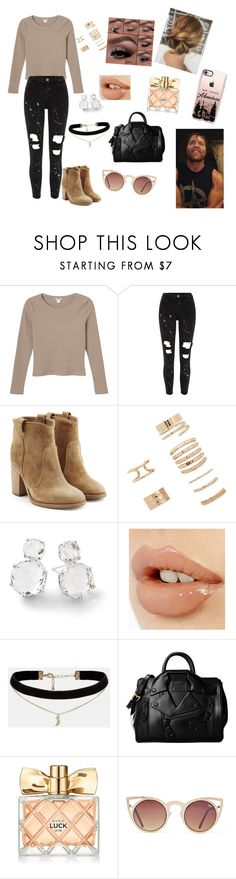 """""""obsession#31"""" by annaconley on Polyvore featuring Monki, River Island, Laurence Dacade, Forever 21, Ippolita, Charlotte Tilbury, ASOS, Moschino, Avon and Quay"""