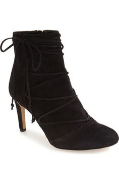 Vince Camuto 'Chenai' Wraparound Lace Bootie (Women) available at #Nordstrom