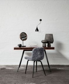Simple space with desk.
