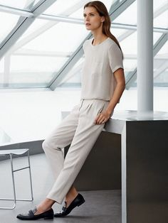 This laid-back look from Mango is still professional enough for the office