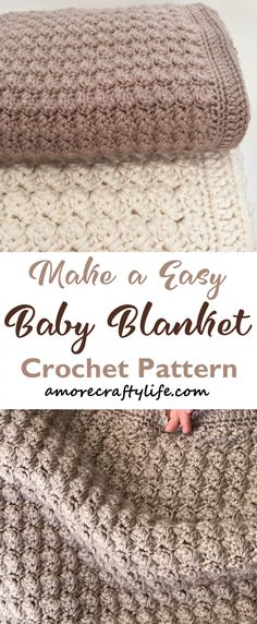 Crochet Baby Blanket Free Pattern, Baby Boy Crochet Blanket, Easy Baby Blanket, Crochet Patterns, Baby Blankets, Baby Afghans, Crochet Blankets, Quick Crochet, Crochet For Boys