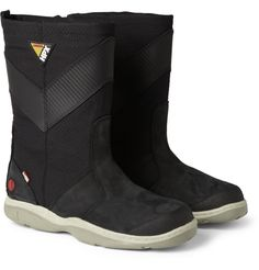 Musto Sailing HPX Leather and Canvas Sailing Boots | MR PORTER