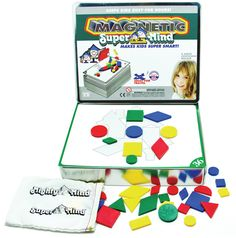 Magnetic Supermind by Leisure Learning Products Inc. - $24.95   I love this as a more abstract approach to puzzle solving!