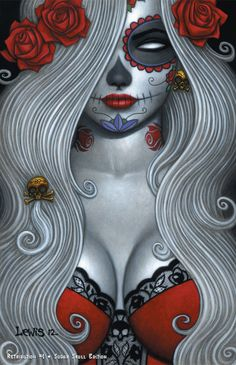 Lady Death: Retribution #1 - Sugar Skull Edition//Scott Lewis/L/ Comic Art Community GALLERY OF COMIC ART