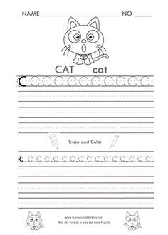 Trace the Alphabet worksheet printables
