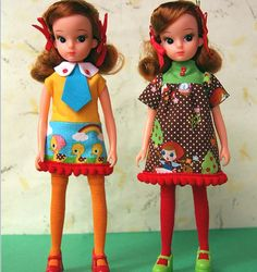 licca dolls - made in Japan