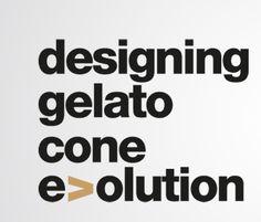 Designing gelato cone evolution - Logo