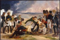 Death of Marshal Lannes, Duke of Montebello - Pierre-Narcisse Guerin - WikiPaintings.org
