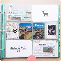 marysza. handmade goods made with love: Life Journal Album - Bieszczady
