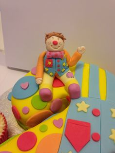 Mr tumble Cake topper #sugarcraft #cake