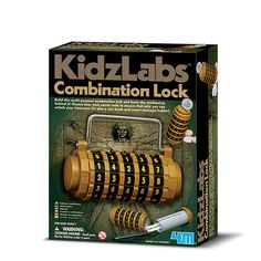 4 m Kidzlabs combination Lock kit Science Activities For Kids, Secret Code, Combination Locks, Cool Toys, Coding, Learning, 3 Years, Spy, Purpose