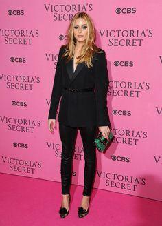 Olivia Palermo at The Victoria's Secret Fashion Show Kicks Off in London!