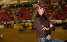 Barranada Triple Crown shirt ... worn beautifully with this hat from Charlie 1 Horse Hat Company!