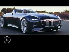 Vision Mercedes-Maybach 6 Cabriolet: sensual and emotional design and innovative technical concept solutions for ultimate luxury.