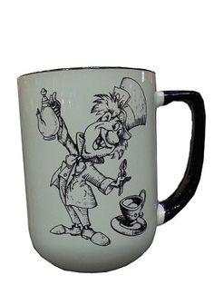 Disney Coffee Mug - Mad Hatter - We're All Mad Here