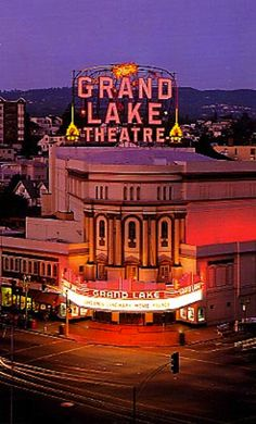 The Most Beautiful Movie Theaters in America - The Grand LakeTheater in Oakland, CA