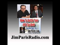 How To Settle With The IRS  http://christianmoney.com Author Daniel Pilla joins Jim Paris to discuss how to settle your IRS debt.  Pilla has appeared on hundreds of talk shows and is the author of the first book teaching people how to settle IRS debts for a fraction of the original amount.    http://www.blogtalkradio.com/jameslparis/2013/01/21/how-to-settle-with-the-irs