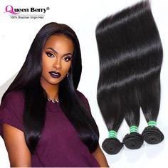 8A Brazilian Virgin Hair 4 Bundles Straight Human Hair Virgin Brazilian Straight Hair Unprocessed Brazilian Virgin Hair Straight
