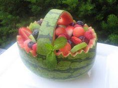 Cute idea for an Easter buffet!