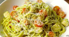 Creamy Pesto Pasta  - Delish.com