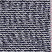 Navy/White Rayon Sweater Knit