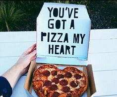 Who got pizza in your heart?