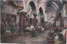 Turkey CONSTANTINOPLE Lebanon Syria Syrie Postcard Ottoman BAZAR Interior C8