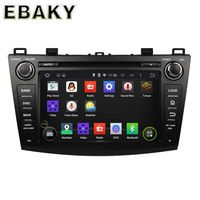 8 inch Quad Core Android 5.1 Car DVD Player For Mazda 3 2009 2010 2011 2012 Radio+GPS Navigation+RDS+Bluetooth+WiFi+Mirror Link