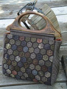 Hexagon bag-Patchwork Quilt