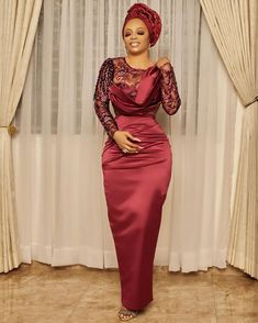 African Party Dresses, African Lace Dresses, African Fashion Dresses, Ankara Fashion, Women's Fashion, African Traditional Dresses, Traditional Outfits, African Blouses, Lace Dress Styles