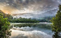 """Misty Sunrise"" -- #wallpaper by ""snowlee"" from http://interfacelift.com -- Taken in Berowra Creek, Sydney, Australia Adobe Lightroom CC -- Available as #wallpapers in any resolution at: http://interfacelift.com/wallpaper/details/3906/misty_sunrise.html"