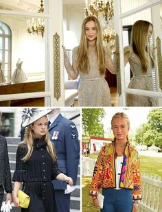 This is how real modern princesses live Lady Amelia Windsor, Royal Blood, Modern Princess, Golden Girls, Social Events, Fairy Tales, Couture, Celebrities, People