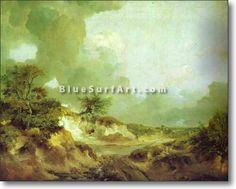 Landscape with Sandpit - £124.99 : Canvas Art, Oil Painting Reproduction, Art Commission, Pop Art, Canvas Painting