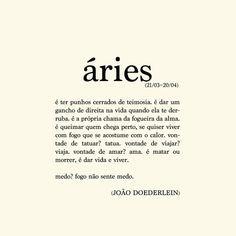 Poema Áries