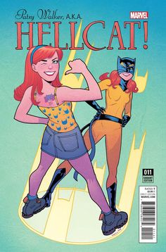 Patsy Walker AKA Hellcat #11 Cover D Incentive Sandy Jarrell Variant Cover (Marvel Now Tie-In)