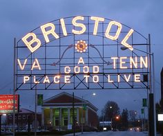 It is the twin city of Bristol, Virginia, which lies directly across the state line between Tennessee and Virginia. Description from quazoo.com. I searched for this on bing.com/images