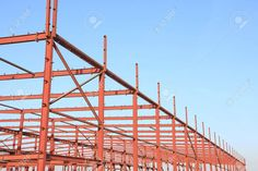 Picture of In the construction site, steel structure is under construction stock photo, images and stock photography. En Stock, Steel Structure, Under Construction, Royalty, Stock Photos, Image, Pictures, Photography, Royals