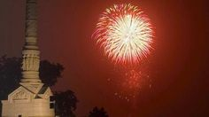 Fireworks Fourth of July celebrations